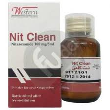 Nit clean 100mg/5ml pd. for oral susp. 60 ml