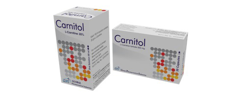 Carnitol 500mg 30 caps