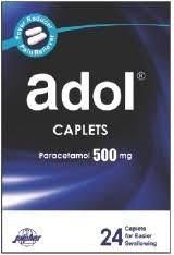 Adol cold caplets