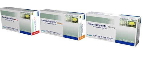Neuroglopentin 400mg 30 caps