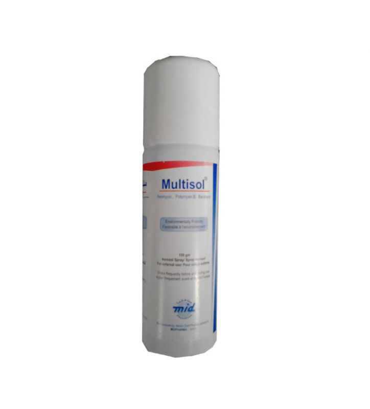 Multisol aerosol spray