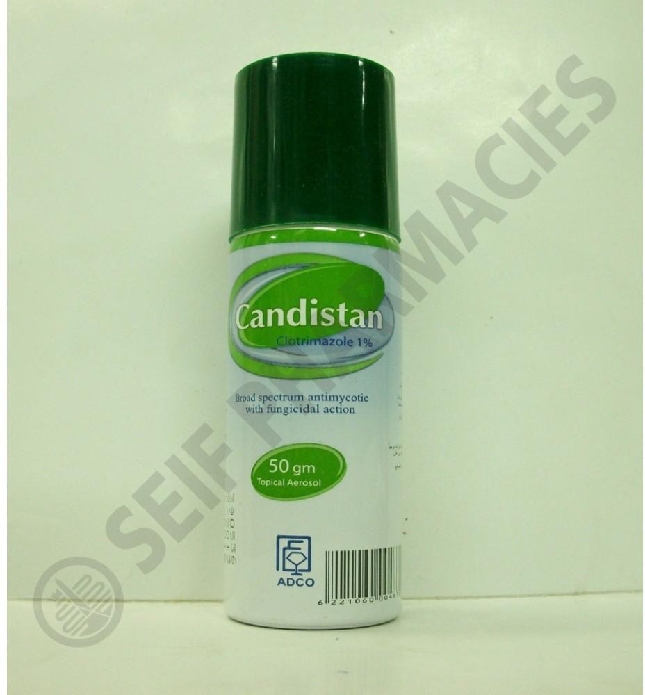 Candistan 1% aerosol 50 gm